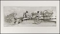 Max Klinger - Amore, morte, aldilà - 1881 - Acquaforte acquatinta - Serie Intermezzi Opus IV - Tiratura sconosciuta EditoreTheo Strofer