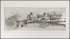 Max Klinger - Amore, morte, aldilà - 1881