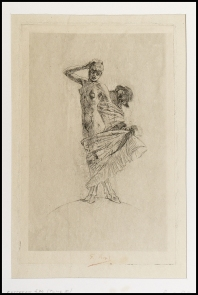 Felicien Rops - Il furto e la prostituzione dominano il mondo - 1897/1893