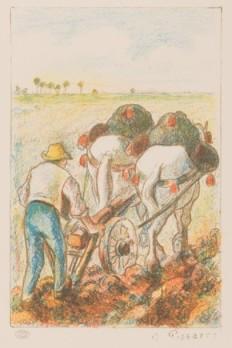 La Charrue - 1898/1901 - Litografia a colori