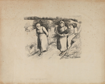 Les Porteuses de Fagots - 1896 - Litografia