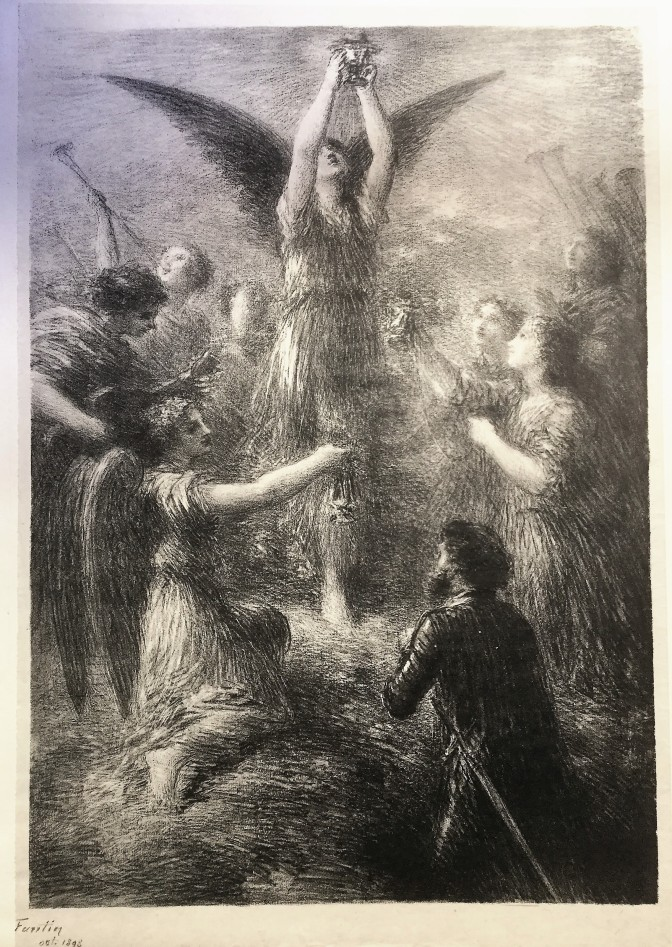 Henri Fantin-Latour - Prelude de Lohengrin - 1898