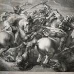 Omaggio a Leonardo:                                    la Battaglia di Anghiari di                   GERARD EDELINCK