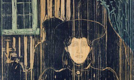 Edvard Munch - Chiaro di luna - 1896