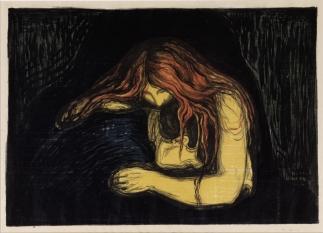 Edvard Munch - Vampiro II - 1895-1902