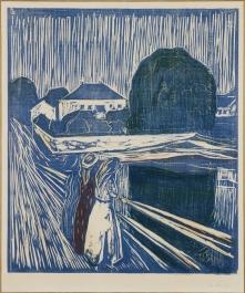 Edvard Munch - Le ragazze sul ponte - 1918