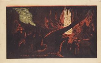 Paul Gauguin - Il diavolo parla [MAHNA NO VARUA INO] - 1893–1894