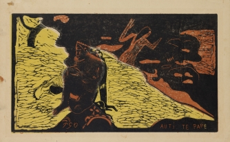 Paul Gauguin - Auti te Pape (le donne al fiume), 1894-1895