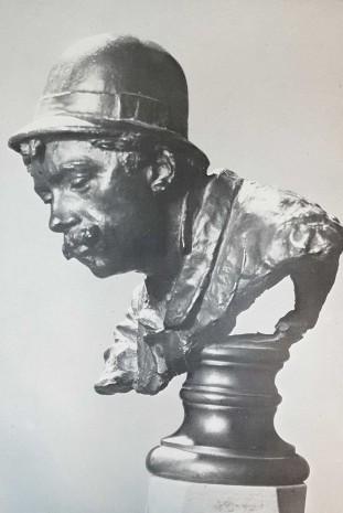 Antonio Piccinni - scultura in bronzo di Vincenzo Gemito