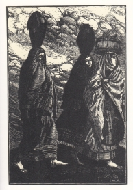Verso la fonte - 1926 - xilografia