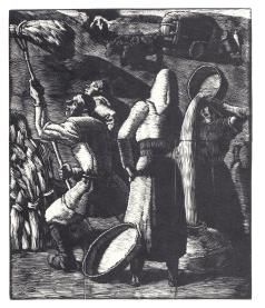 L'aia - 1929 - xilografia
