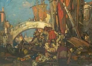 """""""Venetian scene"""""""