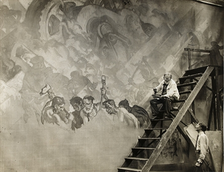 Sir Frank Brangwyn, Rockefeller Murals-2 th