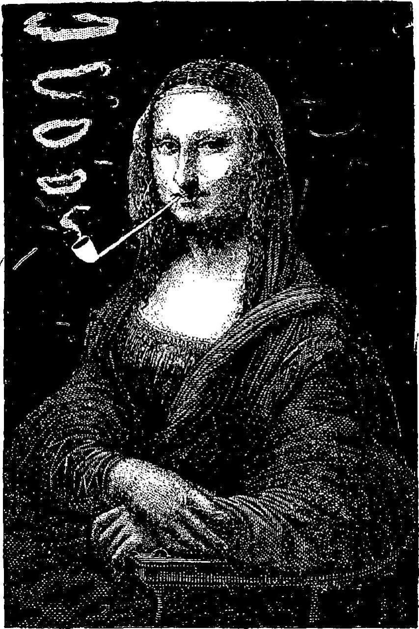 Bataille-La_Joconde_fumant_la_pipe-1887